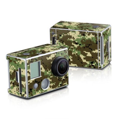 GoPro HD Hero2 Skin - Digital Woodland Camo