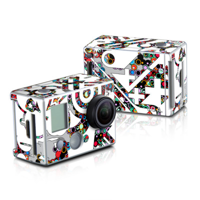 GoPro HD Hero2 Skin - Dots