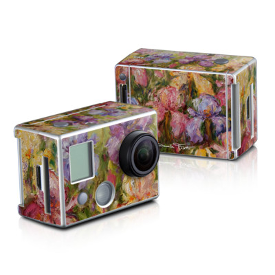 GoPro HD Hero2 Skin - Field Of Irises