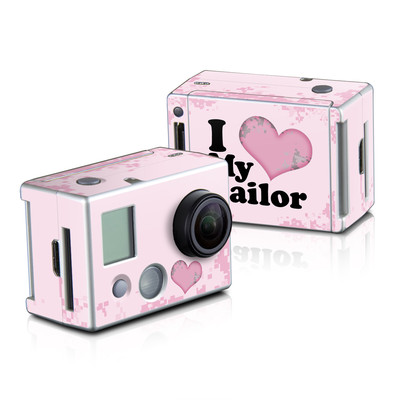 GoPro HD Hero2 Skin - I Love My Sailor