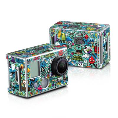 GoPro HD Hero2 Skin - Jewel Thief