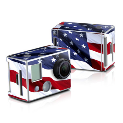 GoPro HD Hero2 Skin - Patriotic