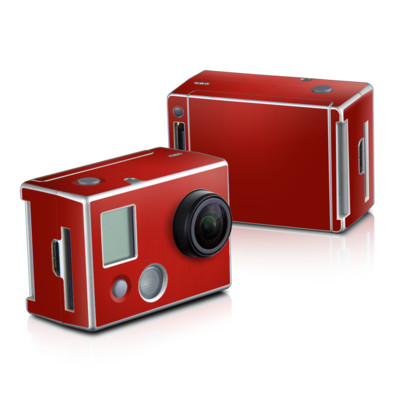 GoPro HD Hero2 Skin - Red Burst