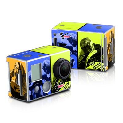 GoPro HD Hero2 Skin - Race Panels
