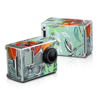 GoPro HD Hero2 Skin - Sea Flora