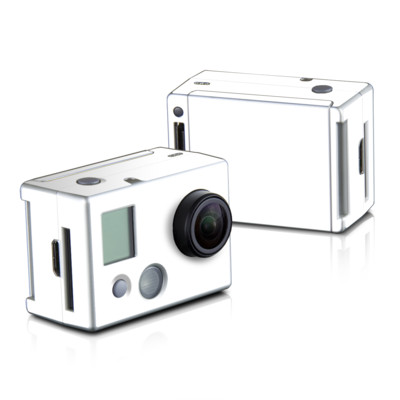 GoPro HD Hero2 Skin - Solid State White