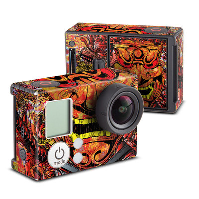 GoPro Hero3 Skin - Asian Crest
