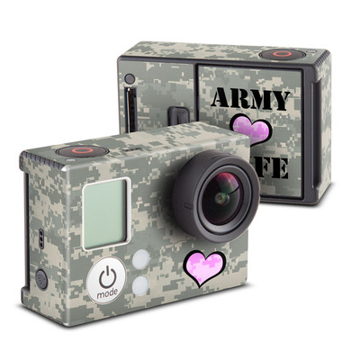 GoPro Hero3 Skin - Army Wife