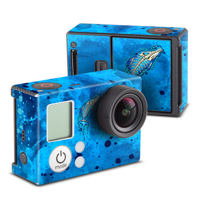 GoPro Hero3 Skin - Barracuda Bones