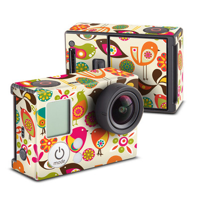 GoPro Hero3 Skin - Bird Flowers