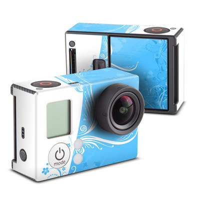 GoPro Hero3 Skin - Blue Crush