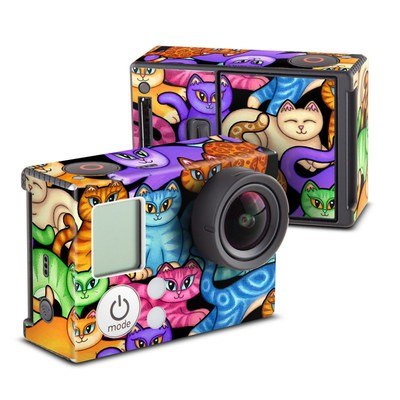 GoPro Hero3 Skin - Colorful Kittens