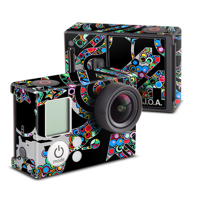 GoPro Hero3 Skin - Circle Madness