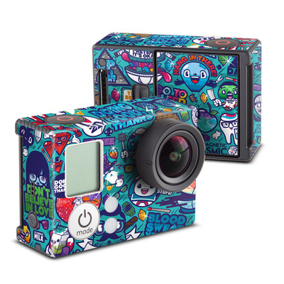 GoPro Hero3 Skin - Cosmic Ray