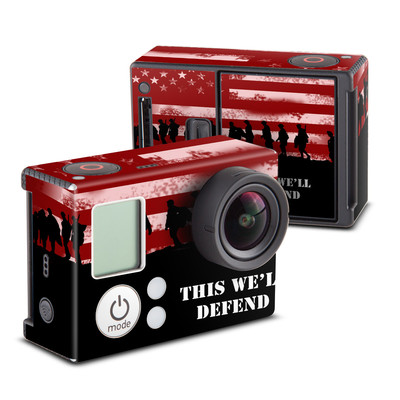 GoPro Hero3 Skin - Defend