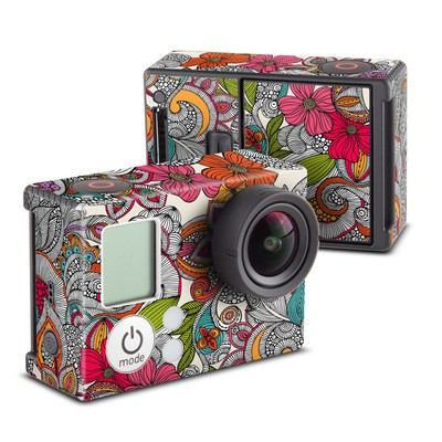 GoPro Hero3 Skin - Doodles Color