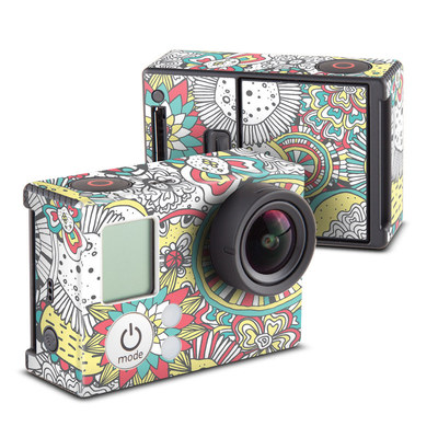 GoPro Hero3 Skin - Faded Floral