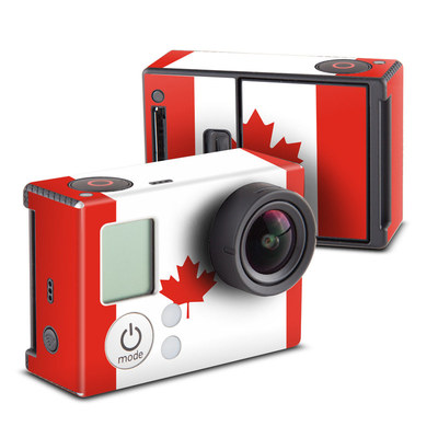 GoPro Hero3 Skin - Canadian Flag