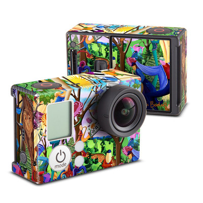 GoPro Hero3 Skin - Happy Town Celebration