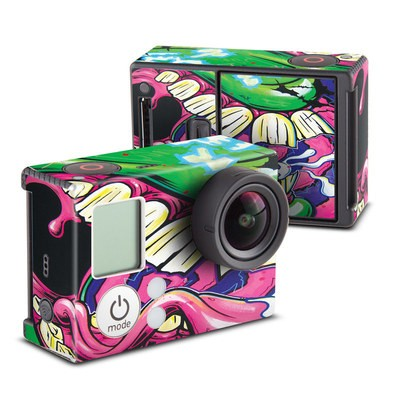 GoPro Hero3 Skin - Mean Green