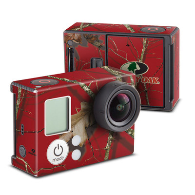 GoPro Hero3 Skin - Break-Up Lifestyles Red Oak