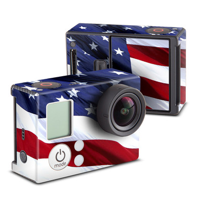 GoPro Hero3 Skin - Patriotic