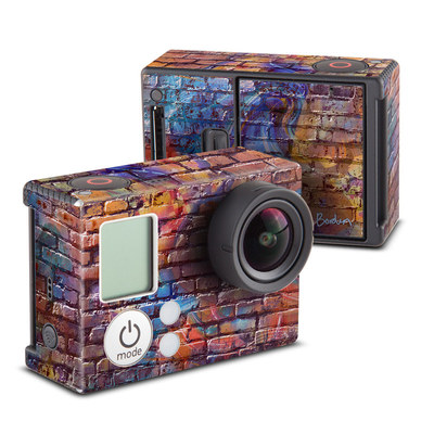 GoPro Hero3 Skin - Painted Brick