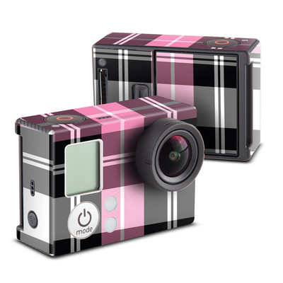 GoPro Hero3 Skin - Pink Plaid