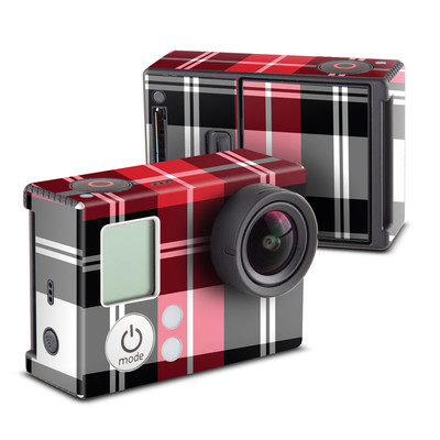 GoPro Hero3 Skin - Red Plaid