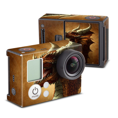 GoPro Hero3 Skin - Red Dragon