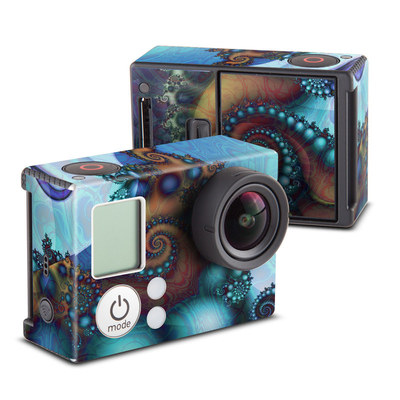 GoPro Hero3 Skin - Sea Jewel