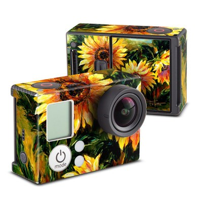 GoPro Hero3 Skin - Sunflower Sunshine
