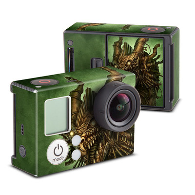 GoPro Hero3 Skin - Steampunk Dragon