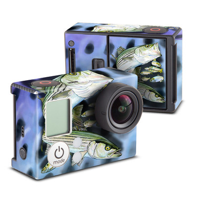 GoPro Hero3 Skin - Striped Bass