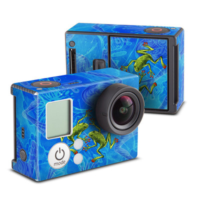 GoPro Hero3 Skin - Tiger Frogs