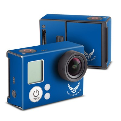 GoPro Hero3 Skin - USAF Blue