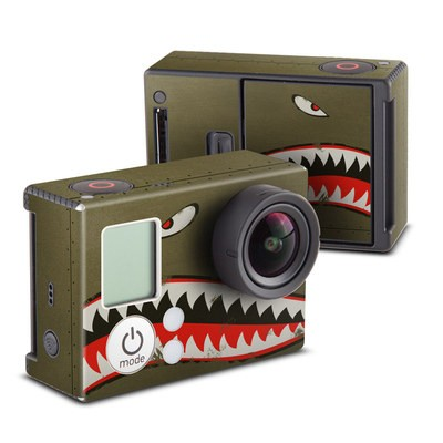 GoPro Hero3 Skin - USAF Shark
