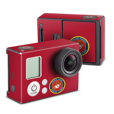 GoPro Hero3 Skin - USMC Red