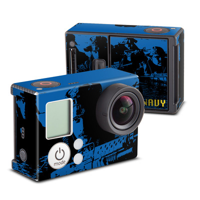 GoPro Hero3 Skin - Water Heist