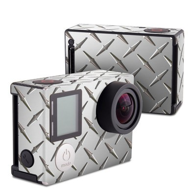 GoPro Hero4 Black Skin - Diamond Plate