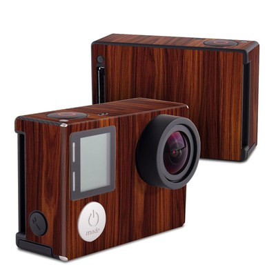 GoPro Hero4 Black Skin - Dark Rosewood