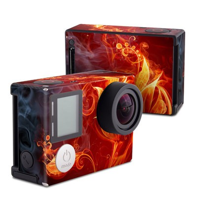 GoPro Hero4 Black Skin - Flower Of Fire