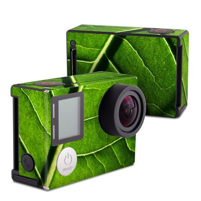 GoPro Hero4 Black Skin - Green Leaf
