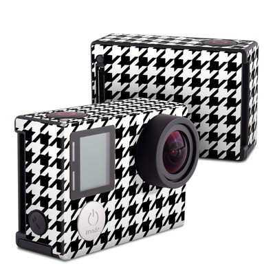 GoPro Hero4 Black Skin - Houndstooth