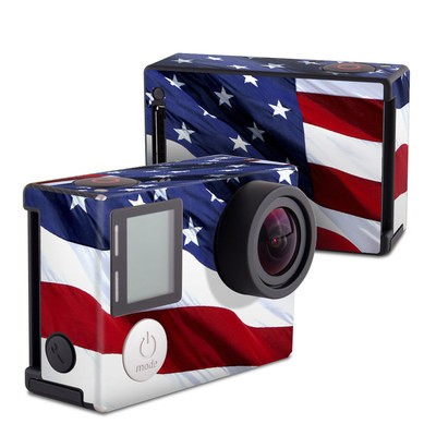 GoPro Hero4 Black Skin - Patriotic