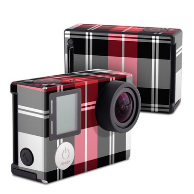 GoPro Hero4 Black Skin - Red Plaid