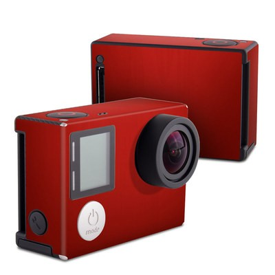 GoPro Hero4 Black Skin - Red Burst
