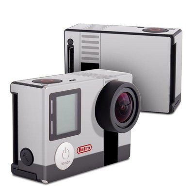 GoPro Hero4 Black Skin - Retro Horizontal