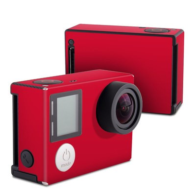 GoPro Hero4 Black Skin - Solid State Red