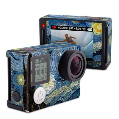 GoPro Hero4 Silver Skin - Starry Night